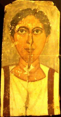 A Young Man, er Rubayat, AD 375-400 (Stockholm, Medelhavsmuseet, NM Ant 2304)…