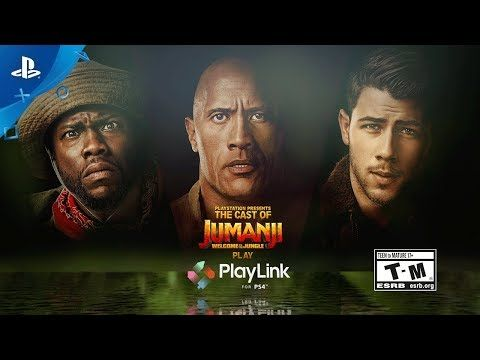 Knowledge is Power - The Jumanji Cast Plays PlayLink! Preview | PS4 - http://eleccafe.com/2017/12/20/knowledge-is-power-the-jumanji-cast-plays-playlink-preview-ps4/