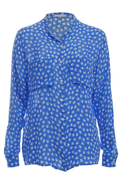 Silk shirt Blanka, sky blue Available online: http://www.sofinah.fi/product/232/shirt-blanka-skyblue