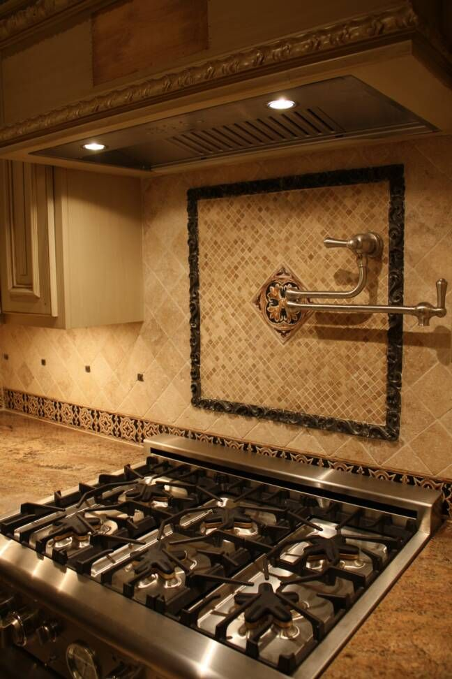 living room ideas with borders, bathroom with borders, kitchen tile backsplash with borders, landscaping ideas with borders, backsplashes with borders, on center border kitchen backsplash ideas with