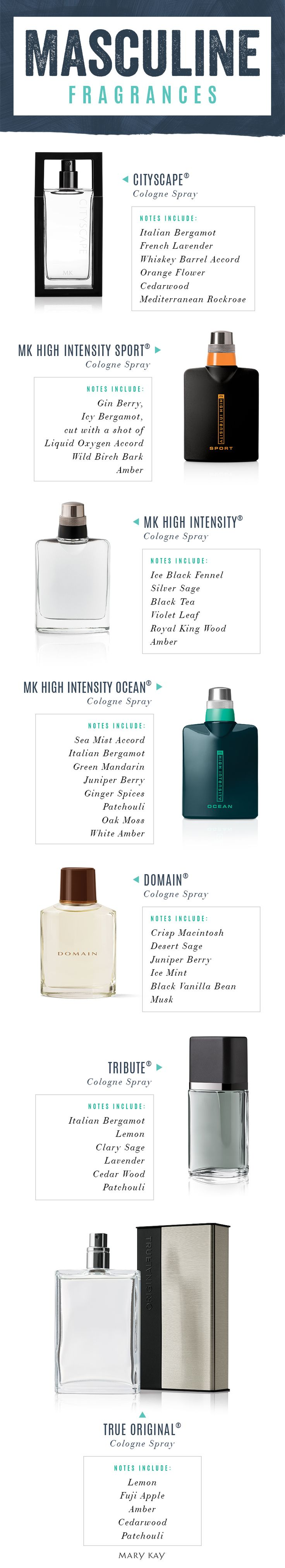 Gift the man in your life a cologne with a uniquely masculine scent that's just his style. | Mary Kay