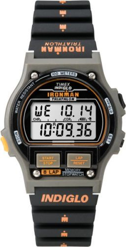 Timex Ironman Triathlon T5H941 20th Anniversary Ironman. Reissue of the classic Timex Ironman Triathlon with an updated module for the 20th Anniversary of the Timex Ironman.