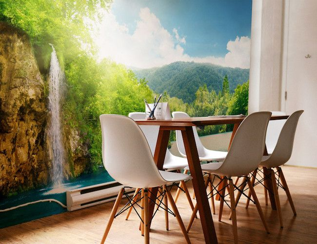 Plitvice Lakes Wall Mural By Eazywallz Part 60