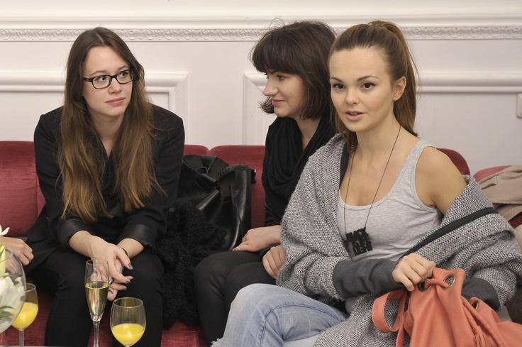Ewa Stępień, Natalia Kędra, Marta Kowalska – Redakcja ELLE na konferencji Aryton,  zdjęcie: AKPA