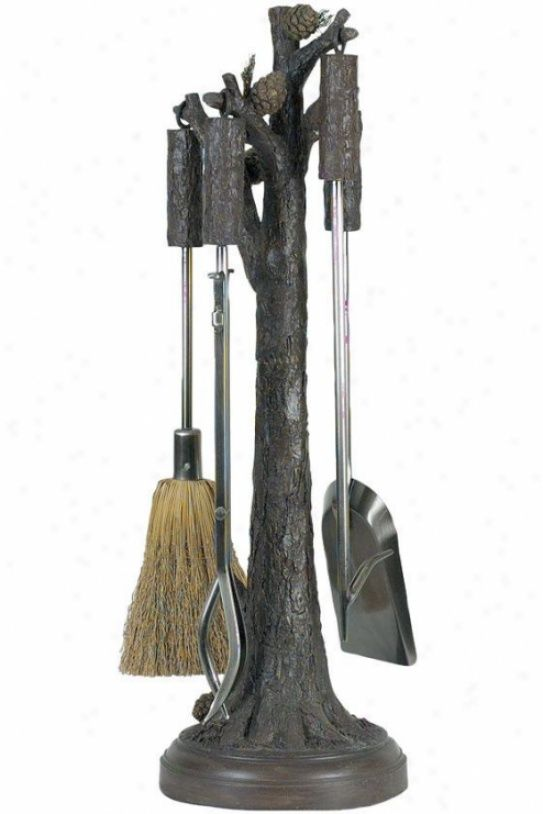Rustic Fireplace Tools