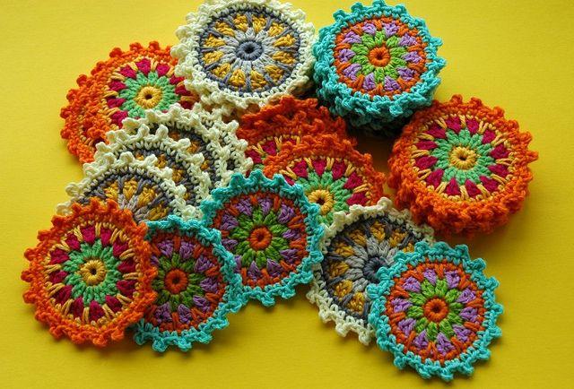 Crochet Motifs by AnnieDesign, via Flickr
