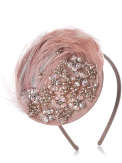 Jewelled feather fascinator by Accessorize. It looks so pretty on.