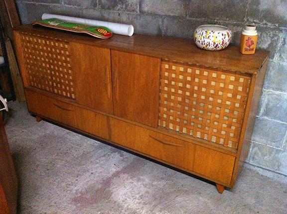 60's stereo cabinet.  pacificjunctionshop@gmail.com