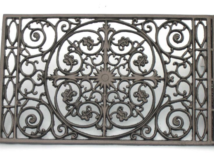 A Wrought Iron Doormat I Love Filigree Pinterest