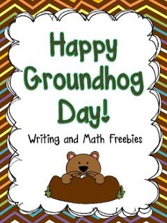 Free Happy Groundhog Day Activity Packet