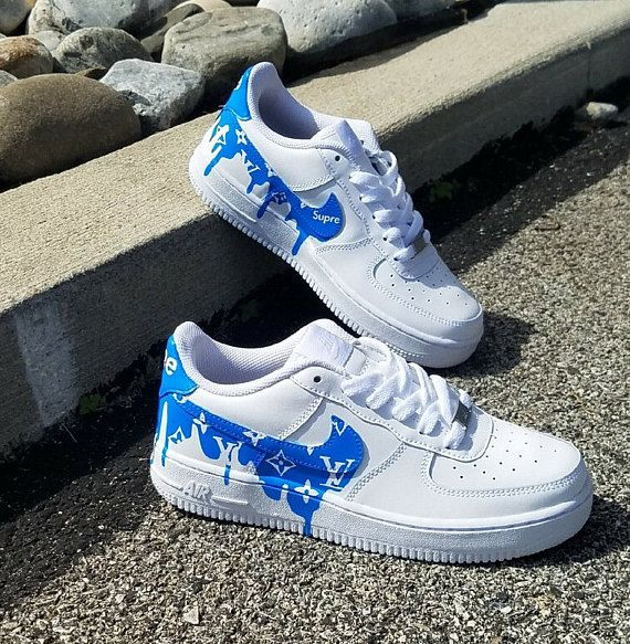 82d3f7f2a4f NEW Women s Nike Air Force 1 LV Supreme Drip Sneakers