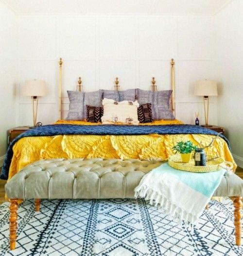 1412 besten Schlafzimmer Ideen - Schlafzimmermöbel - Kopfteil - schöne schlafzimmer ideen