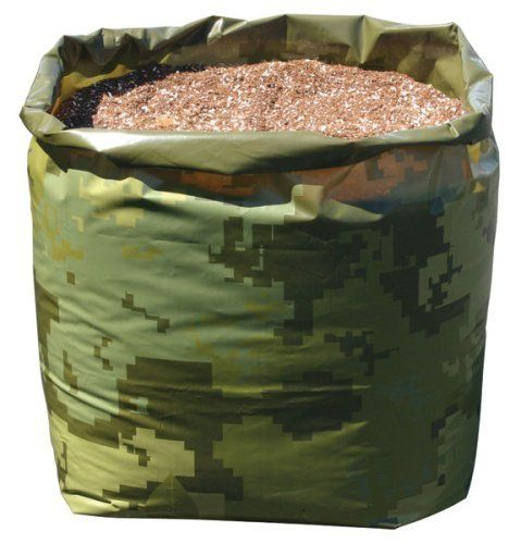 Botanicare 30 Gallon Camo Grow Bag / 12 Pack by Botanicare. $57.46. Pre-punched drainage holes. Sturdy 6 mil plastic. Fill with preferred media (not included). Digital camo print. Plant right in the bag. Sturdy 6 mil plastic  Digital camo print  Pre-punched drainage holes  Fill with preferred media (not included) Plant right in the bag 12 - PACK