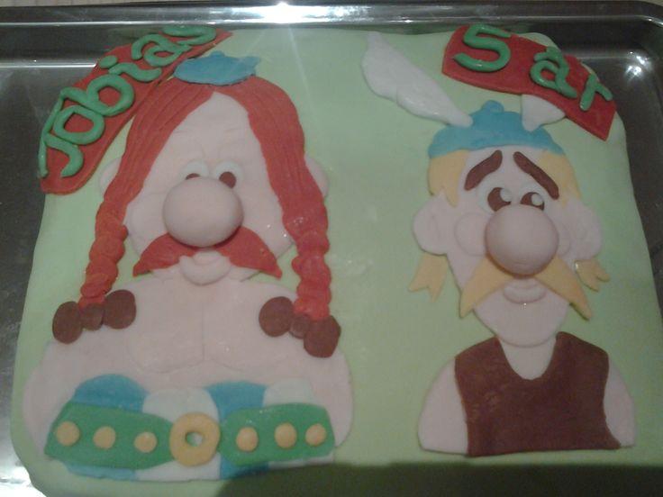 Fødselsdagskage til min Søn, der ligesom jeg elsker Asterix og Obelix