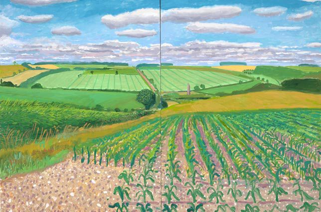 David Hockney: The East Yorkshire Landscape