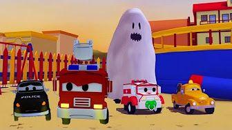 Поезд Трой и Гоночный автомобиль в Автомобильный Город |Мультфильм для детей - YouTube