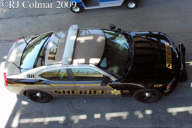 2009 Mobile County Sheriff Dodge Challenger Police Package LX, Talladega Superspeedway, AL