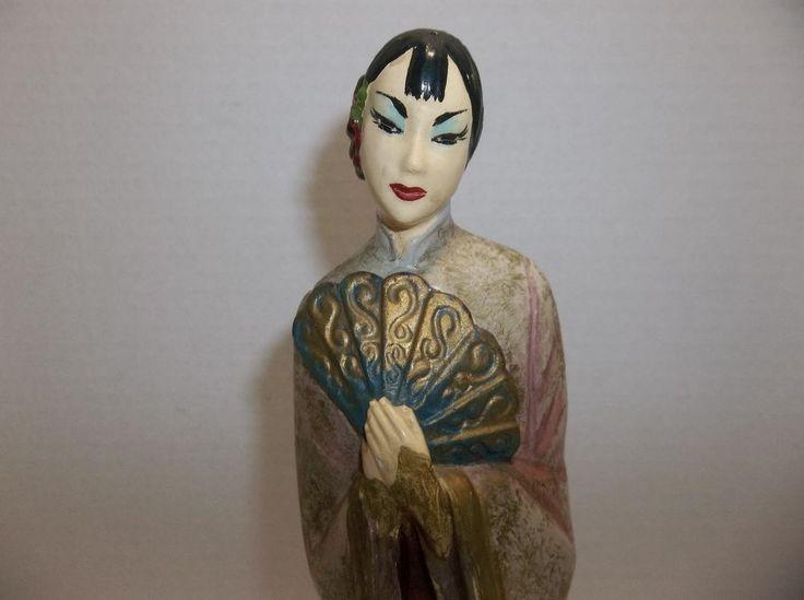 Vintage Japanese Porcelain GEISHA Figurine #Unknown