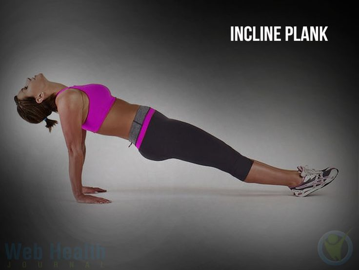 25 best ideas about incline plank on pinterest for Plank workout results