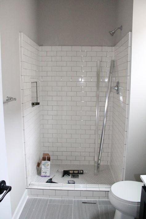 White Subway Tile, Shower Design Inspiration | construction2style