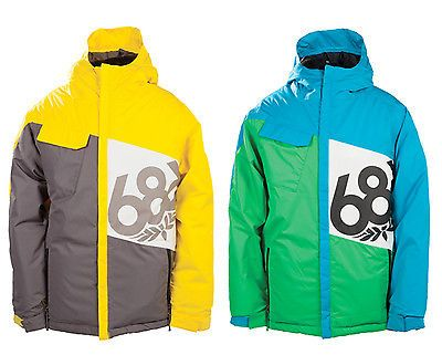 686 boys #snowboard #jacket - #mannual iconic - kids, youth, children,  View more on the LINK: http://www.zeppy.io/product/gb/2/271976606673/