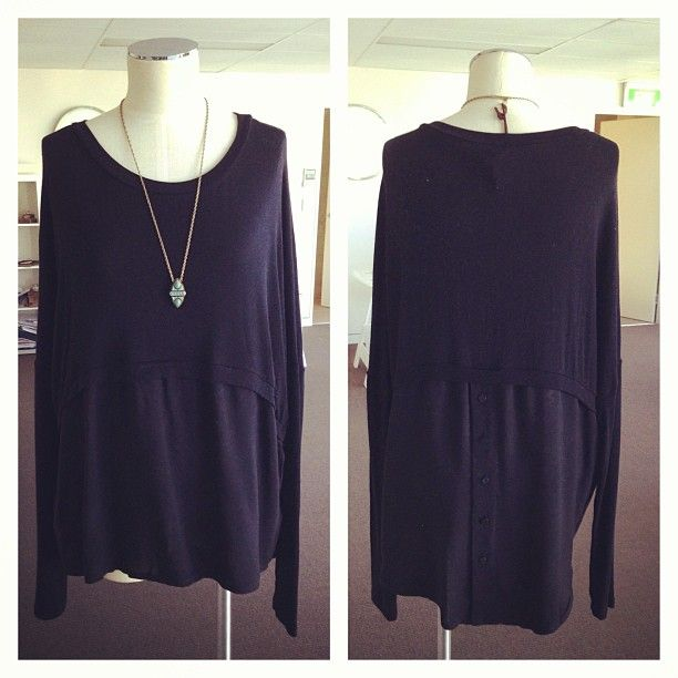 Maud Dainty Harry Top with button up back
