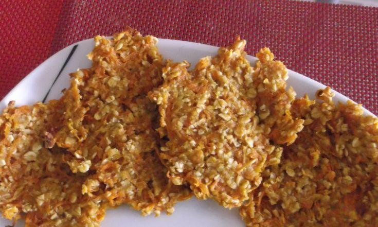 Zdravé sušienky z ovsených vločiek