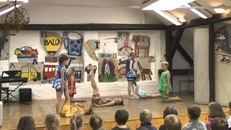 První krůčky k umění - výchovný pořad pro Mateřské školy