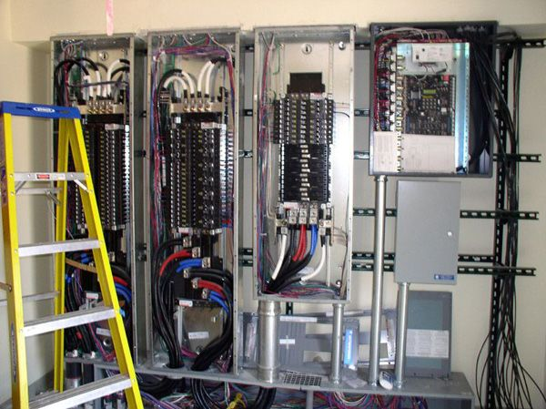 Commercial electrical sub panels conduits images | Whole