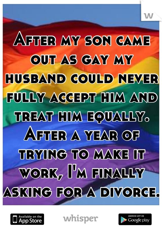 divorce your gay husband