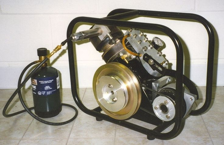 SV-2 MKI Stirling engine generator