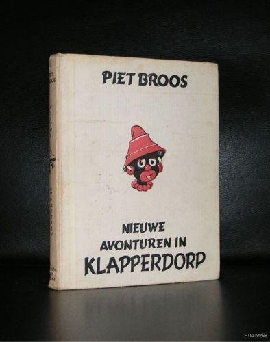 Piet Broos # NIEUWE AVONTUREN KLAPPERDORP# 1949, nm-