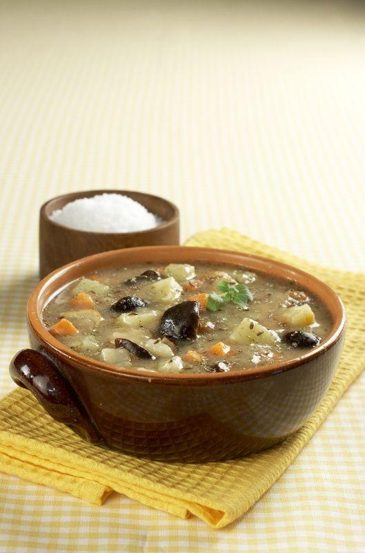 Ingredience: voda 1,25 litru, brambory 250 gramů, zelenina kořenová 100 gramů…
