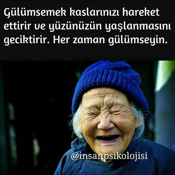 """""""Gülümseyin Beraber gülmeyi sevdiğiniz kişileri etiketleyin. #psikoloji #insanpsikolojisi"""""""