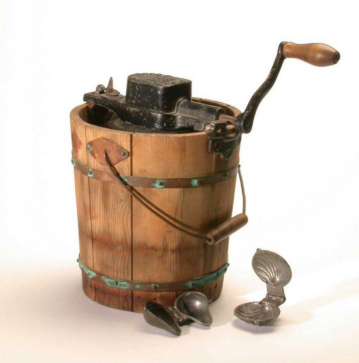 invention ice cream victorian era - Google Search