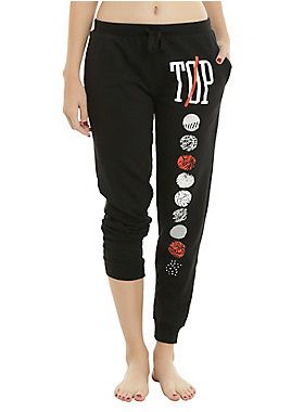 Get comfy, TOP fans // Twenty One Pilots Symbols Jogger Pants