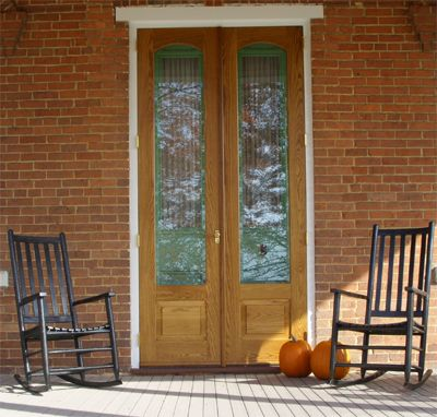 32 best dream house images on pinterest furniture home for Double storm doors