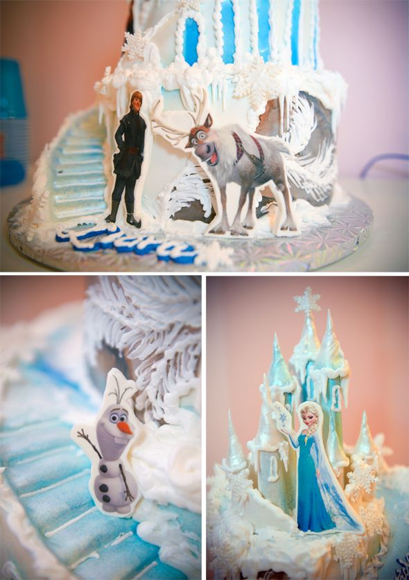frozen birthday cake frozen cake frozen theme frozen party birthday ...