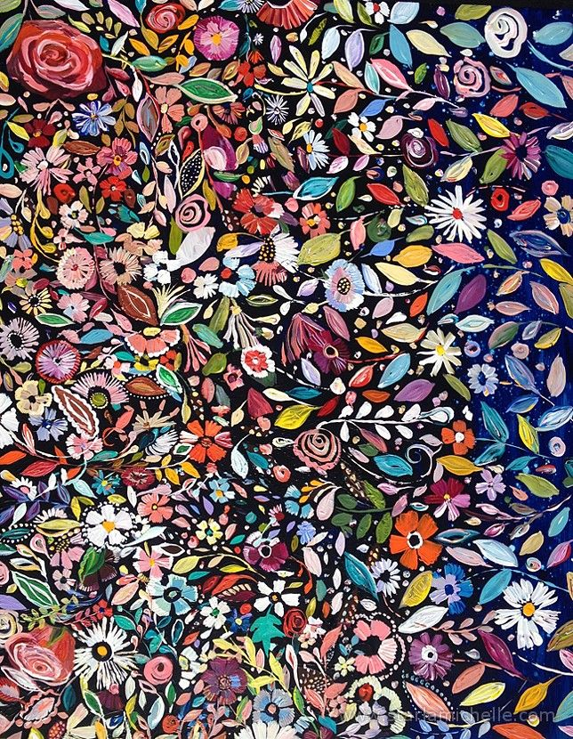 Pretty Pattern by Starla Michelle floral colorful