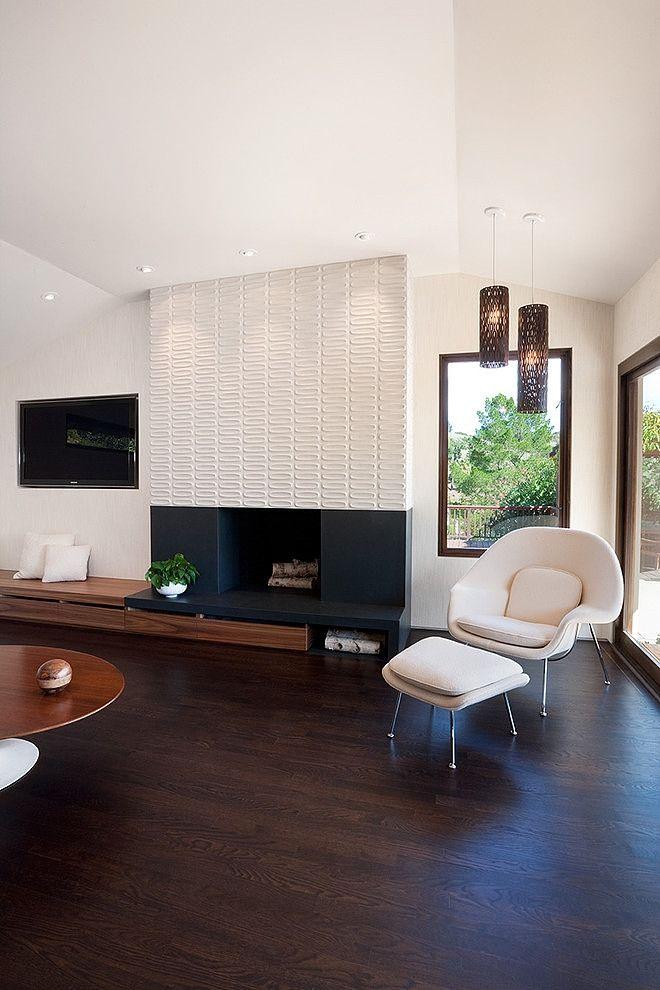 Fireplace sitting area / KD Berkeley?