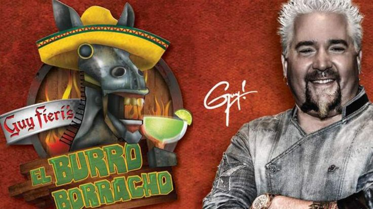 Rio All-Suite Hotel & Casino is pleased to announce Guy Fieri's El Burro Borracho, is now open! The restaurant is Fieri's second Las Vegas restaurant.  El Burro Borracho, or the Drunken Donkey in its literal translation, brings a vibrant, fun atmosphere with the Guy Fieri touch. Enjoy authentically prepared Mexican dishes with upscale touches and the signature, flavorful flair you would expect from Fieri. Crispy Mahi Mahi Juan Tacos, Flaming Queso Fundido, Acapulco Gold Salad, Drunken Fish…