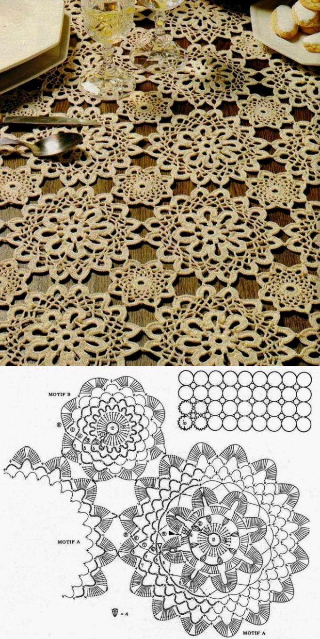 Crochet Patterns: Crochet Tablecloth Patterns - Gorgeous
