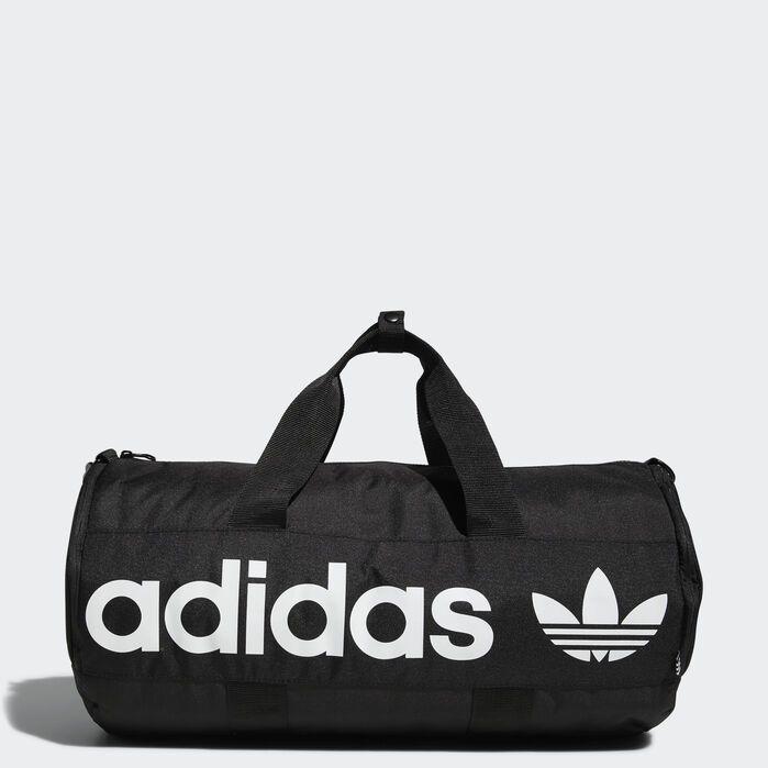 Paneled Roll Duffel Bag Black Mens