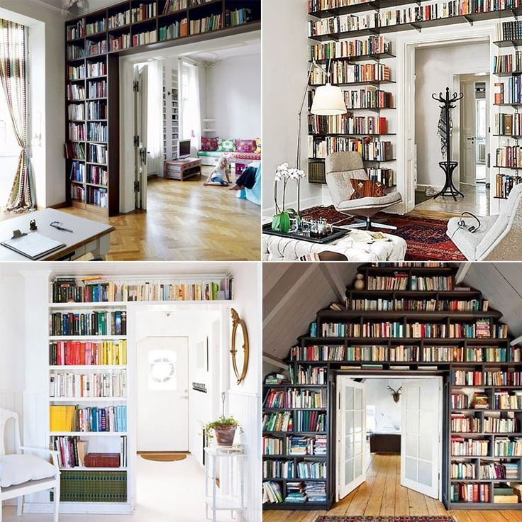 Domowa biblioteczka - Designyourlife.pl