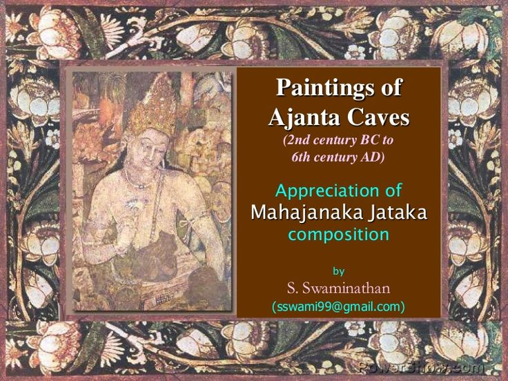 Storytelling - Buddhist Jataka stories in the ancient Ajanta cave paintings