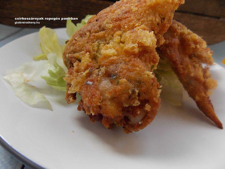 Csirkeszárnyak ropogós panírban - gluténmentes panírozási trükkök