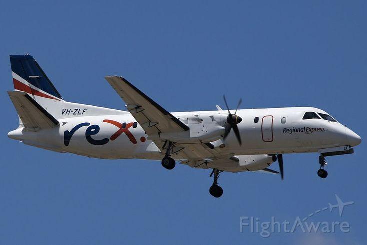 Photo of RXA Saab 340 (VH-ZLF) ✈ FlightAware
