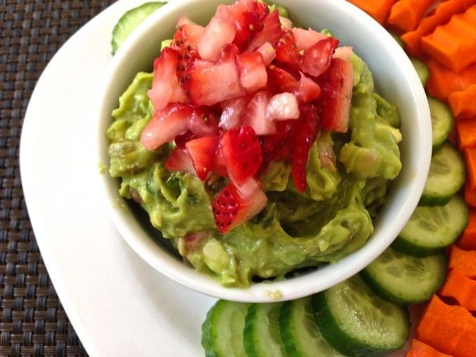 Strawberry Guacamole | Living Linda