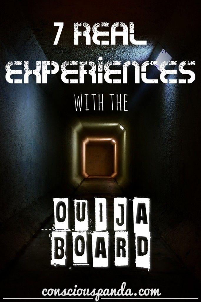 7 Real Experiences With The Ouija Board - There are few items that send chills running down the spine, as quickly as the mention of a Ouija Board.  Many people have their own unexplainable stories, and many more refuse to go near them.