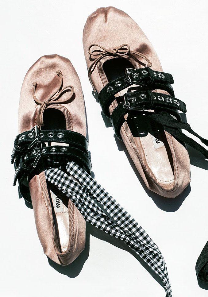 Miu Miu Slipper / Miu Miu, Ballet Slipper / Garance Doré